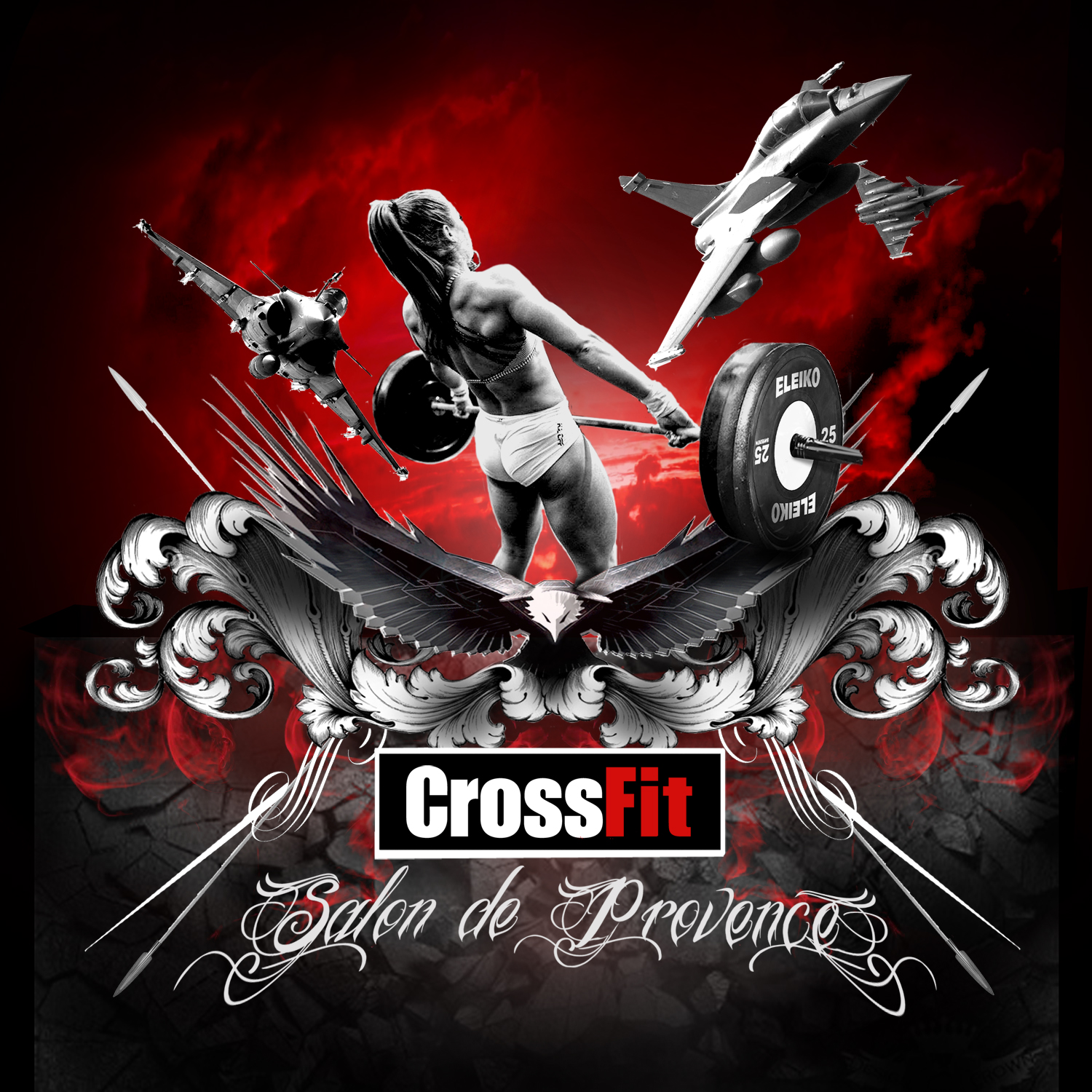 Crossfit salon de provence la french co 6 boxs de crossfit for Crossfit salon de provence