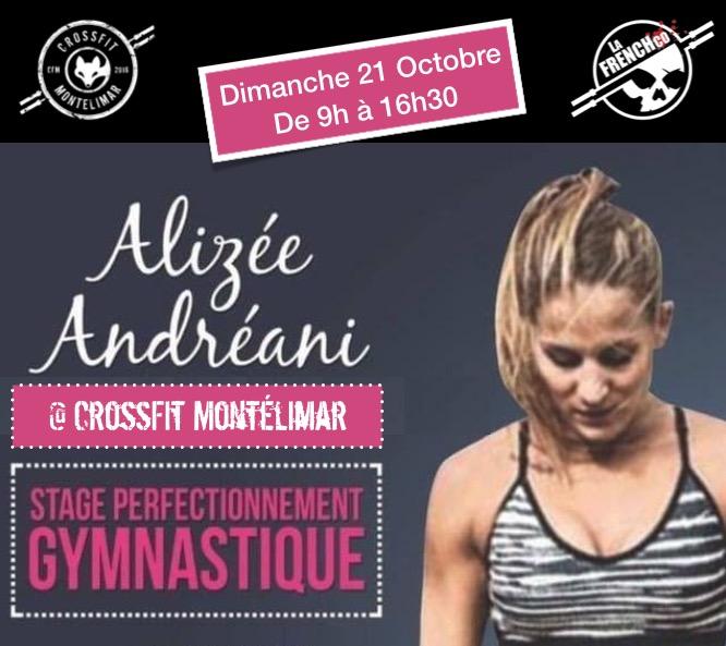 Alizée ANDRÉANI @ CrossFit Montélimar avec La French Co