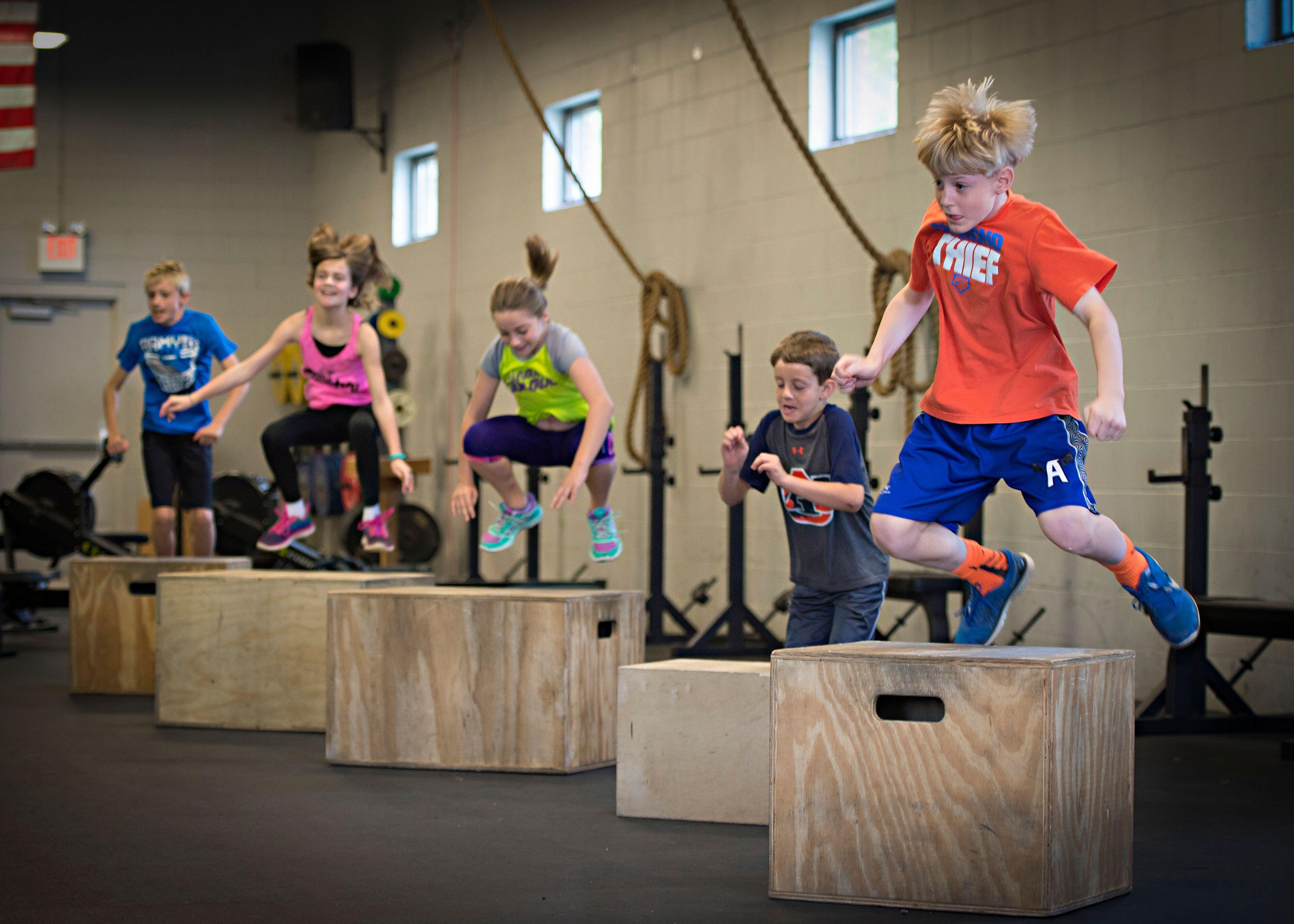 CrossFit Kids / Teens : redonner aux jeunes l'envie de bouger !