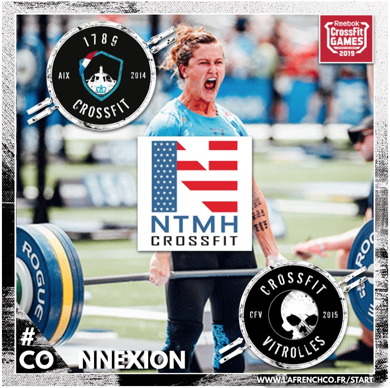 CrossFit Games 2019 : The Open – 3 boxes : 1789 CrossFit, NTMH CrossFit, CrossFit Vitrolles