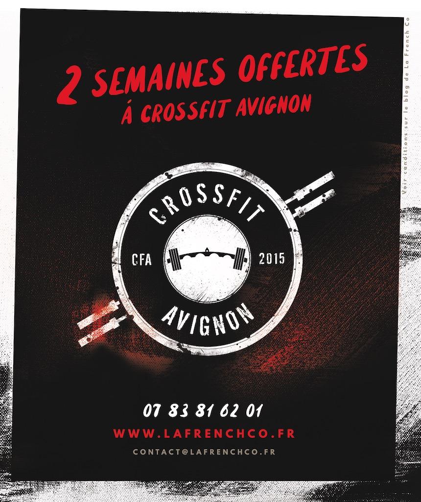 2 semaines de CrossFit OFFERTES et sans condition d'achat @ CrossFit Avignon !