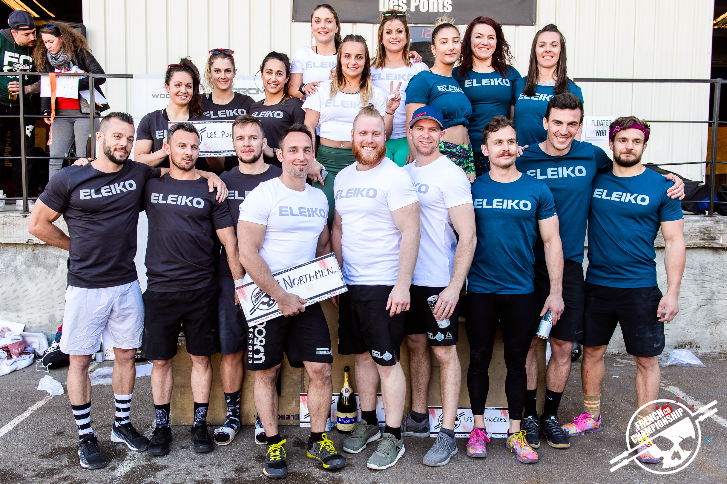 Récapitulatif : La French Co Championship 2019 Event #1 @ CrossFit Des Ponts