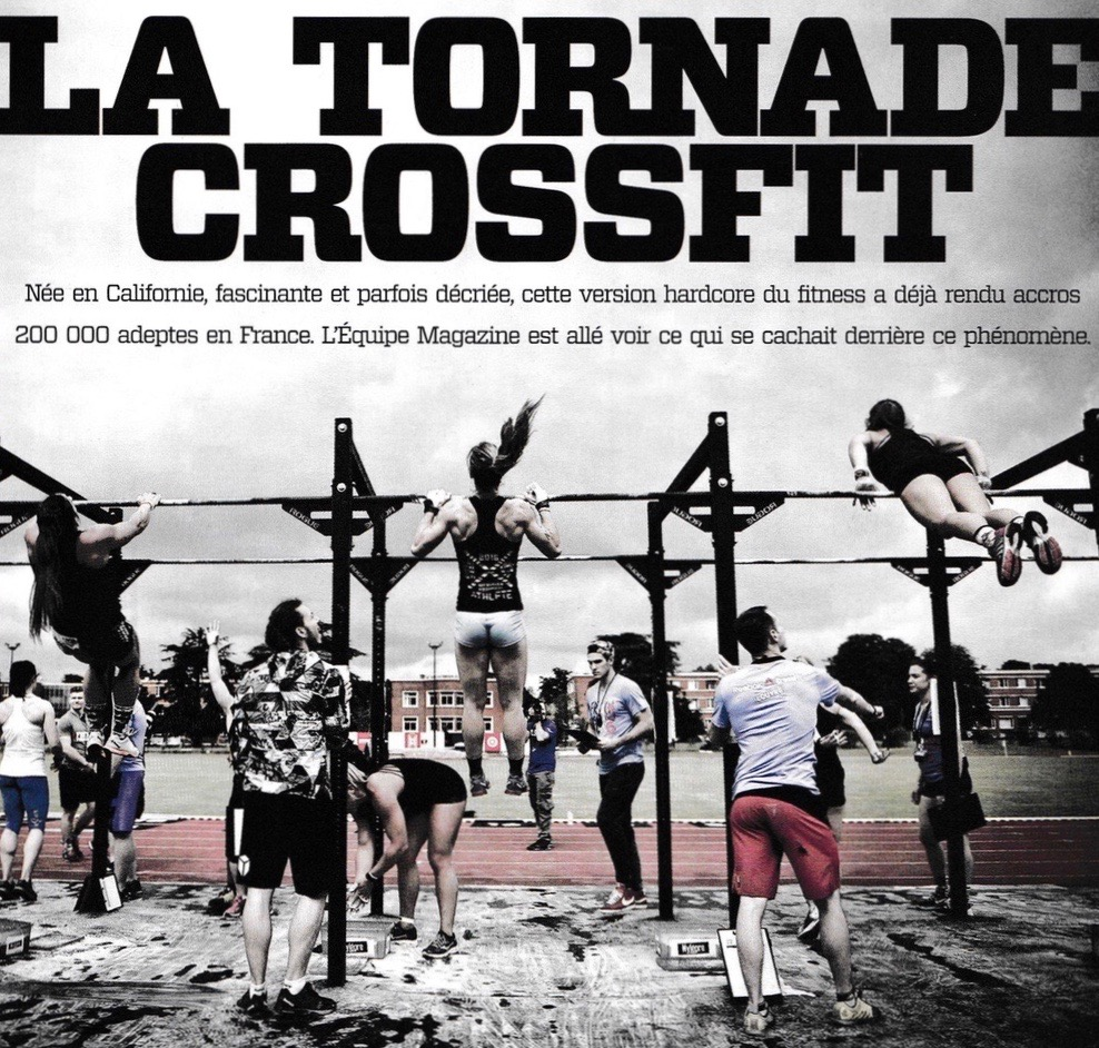 L'Equipe Magazine présente le CrossFit