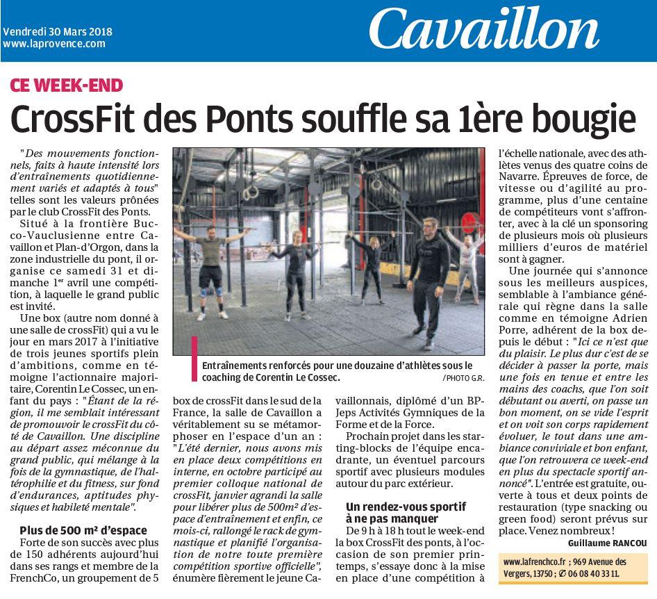 Coup de projecteur sur CFDP à l'occasion du French Co Championship