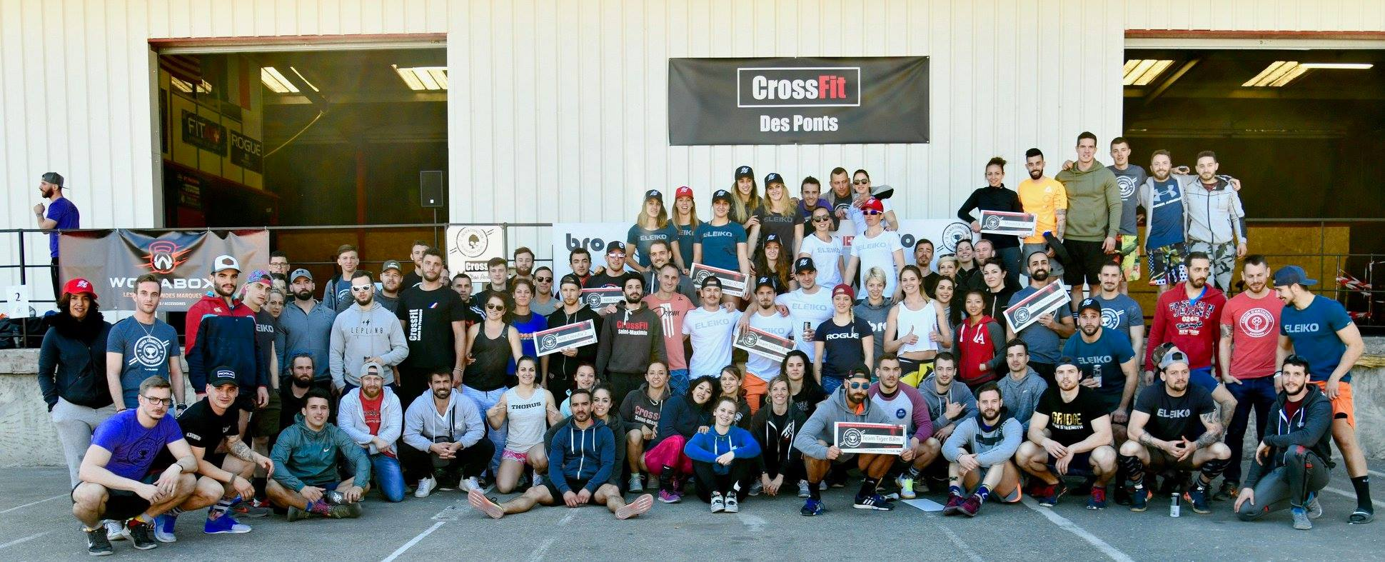 French Co Championship @ CrossFit Des Ponts #CFDP