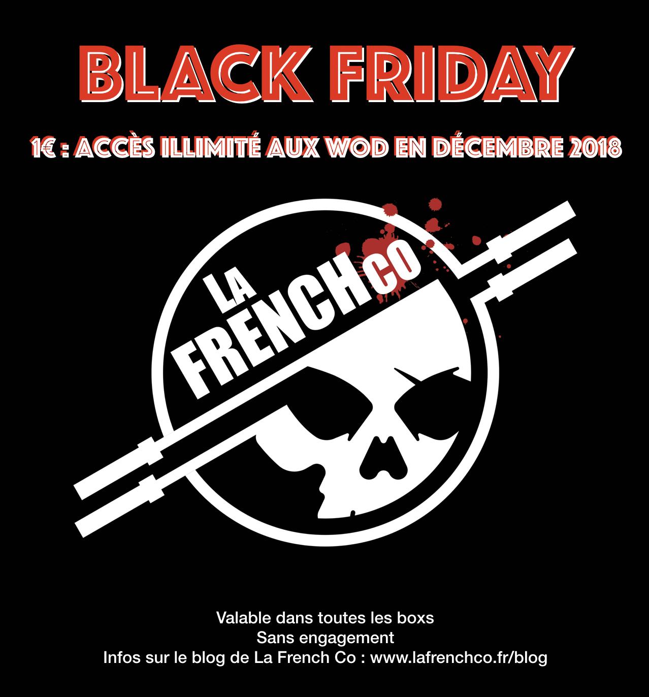Black Friday 2018 : Accès illimité en décembre 2018 pour 1€
