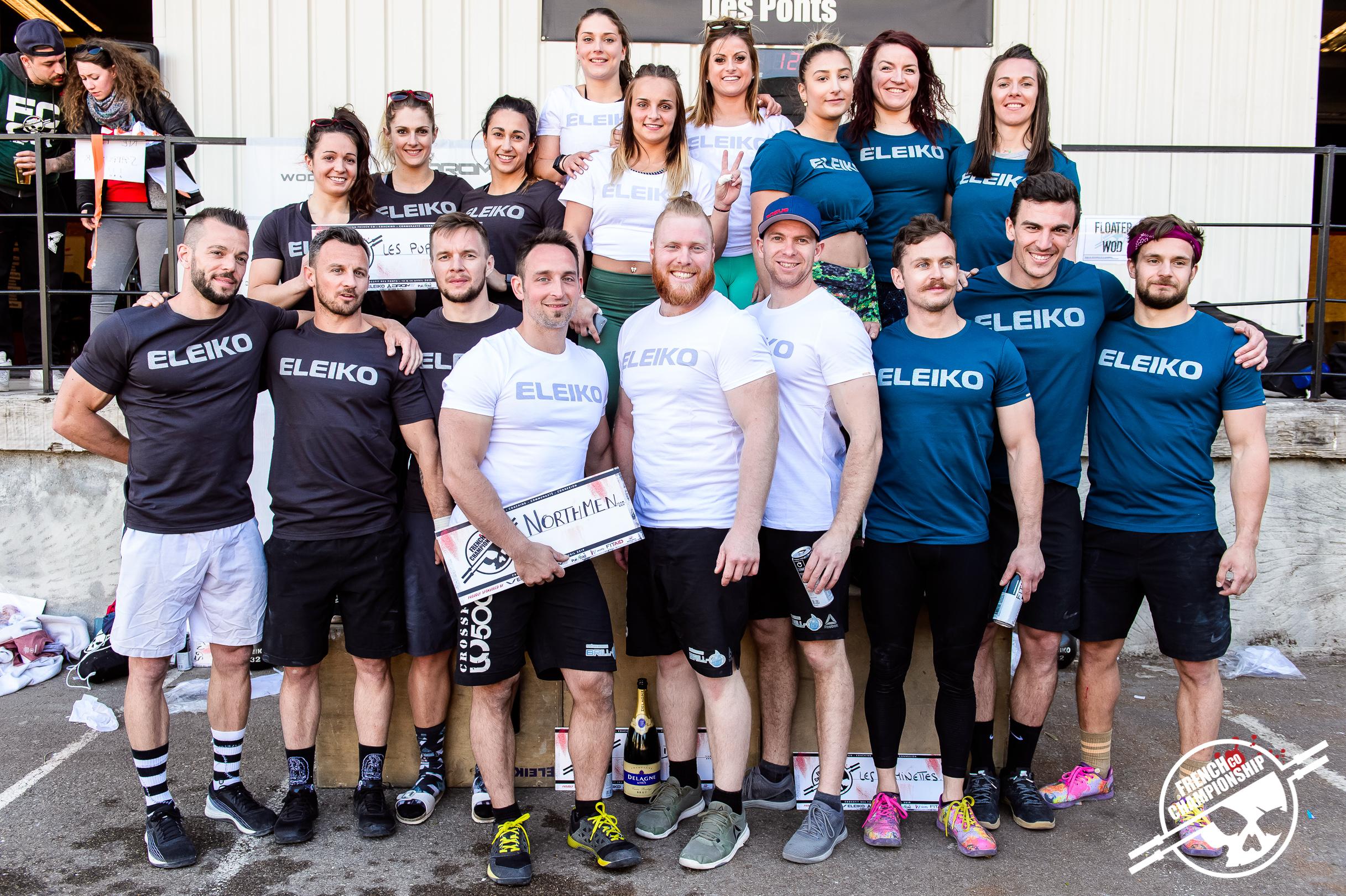 Récapitulatif : La French Co Championship 2019 Event #1 @ CrossFit Des Ponts