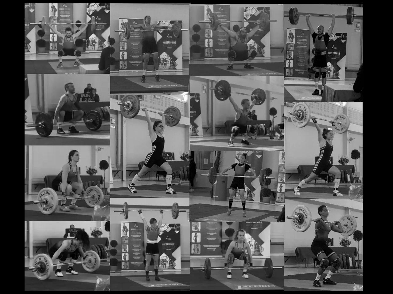 Championnat départemental d'haltérophilie 13 à Noves